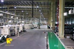 Thi công sơn Epoxy nhà máy sản xuất cáp Hitachi - Hải Dương
