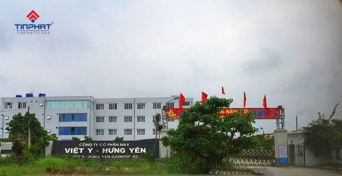 Sơn Epoxy Tín Phát Nhà-máy-may-Việt-Ý-Hưng-Yên