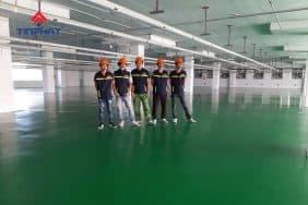 Sơn-sàn-Epoxy-xưởng-may-Việt-Ý
