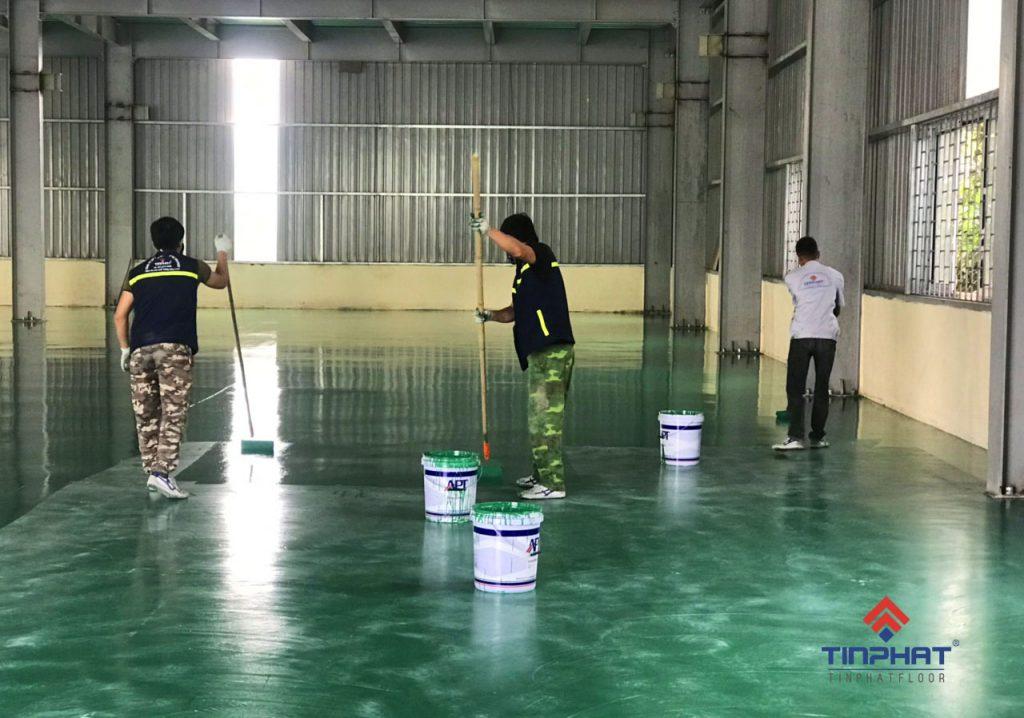 Sơn-epoxy-tại-nhà-máy-samsung-Bắc-Ninh