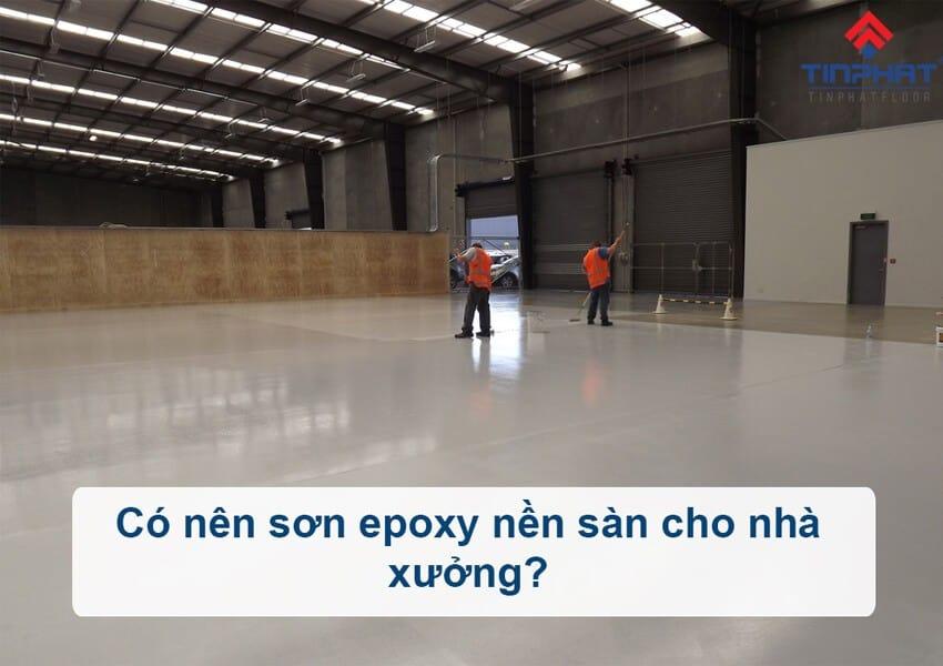 Sơn Epoxy Tín Phát son-epoxy-nen-san-nha-xuong