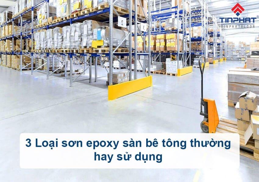 Sơn Epoxy Tín Phát son-epoxy-san-be-tong-su-dung-pho-bien