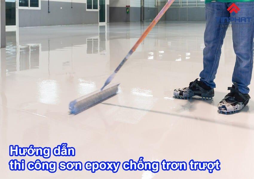 Sơn Epoxy Tín Phát tong-quan-va-cach-thi-cong-son-epoxy-chong-truot