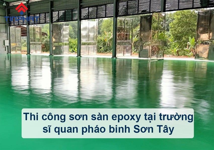 Sơn Epoxy Tín Phát thi-cong-son-san-epoxy-truong-si-quan-phao-binh-sonsanepoxy