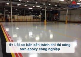 Sơn Epoxy Tín Phát loi-co-ban-khi-thi-cong-son-epoxy-cong-nghiep-can-tranh-273x191