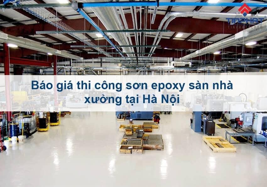 Sơn Epoxy Tín Phát son-epoxy-san-nha-xuong